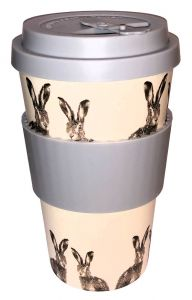 Hare - Eco Bamboo Travel Mug
