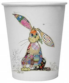Binky Bunny Paper Cups (8 Pack - Biodegradable)