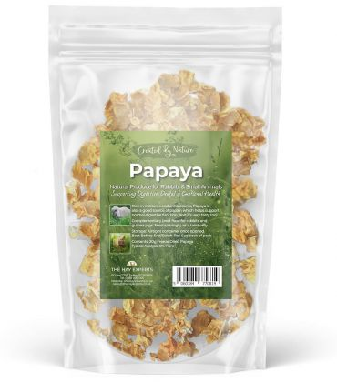 Papaya - Freeze Dried (The Hay Experts)