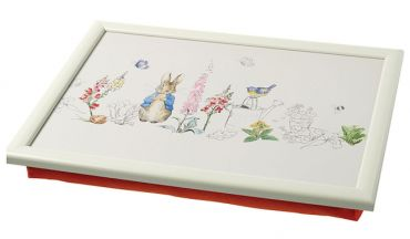 Peter Rabbit Padded Lap Tray - Red Base