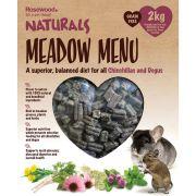 Rosewood Naturals Meadow Menu Chinchillas & Degu