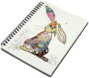 Binky Bunny A5 Notebook