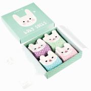 Bonnie Bunny Baby Socks (4 pack)