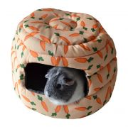 """2 In 1 Carrot """"Beehive"""" Bed - Covered"""