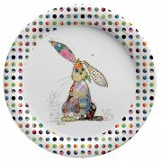 Binky Bunny Party Plates (Biodegradable) 8 pack
