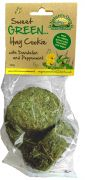 Sweet Green Hay Cookies with Dandelion & Peppermint