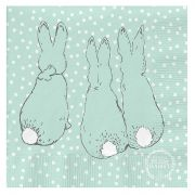 Peter Rabbit™ Contemporary 3-ply Paper Napkins - Cotton Tail