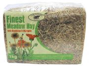 Finest Meadow Hay with Dandelion & Marigold (Pure Pastures) - 1kg