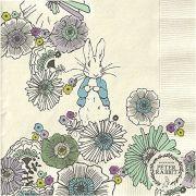 Peter Rabbit™ 3-ply Napkin - Contemporary Meadow