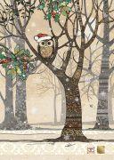 Santa Owl Tree