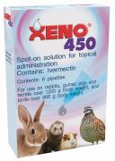 Xeno 450 - for use on rabbits, guinea pigs, ferrets weighing over 1200g and birds weighing over 666g