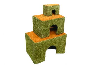 Carrot Cottage - Showing Small, Medium & Large Sizes