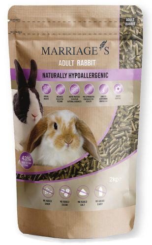 Hypoallergenic Nutri Pressed Rabbit Pellets