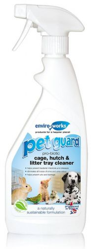 Pet Guard Cage Hutch & Litter Tray Cleaner