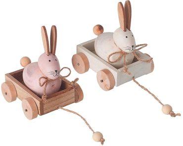 Bunny In Cart
