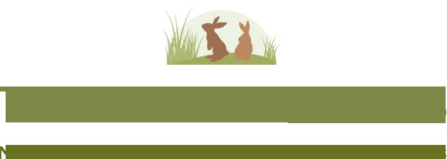Happy Bunnies Live Here Sign