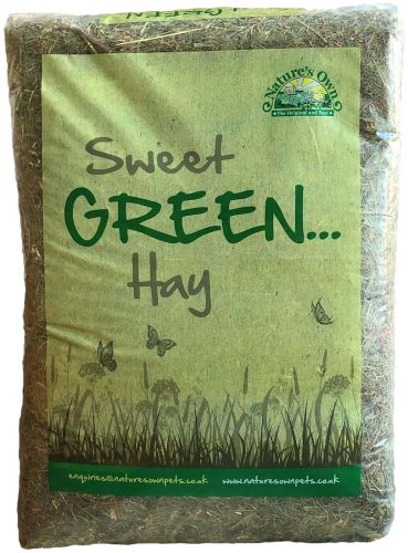 Sweet Green Hay (3.5kg)