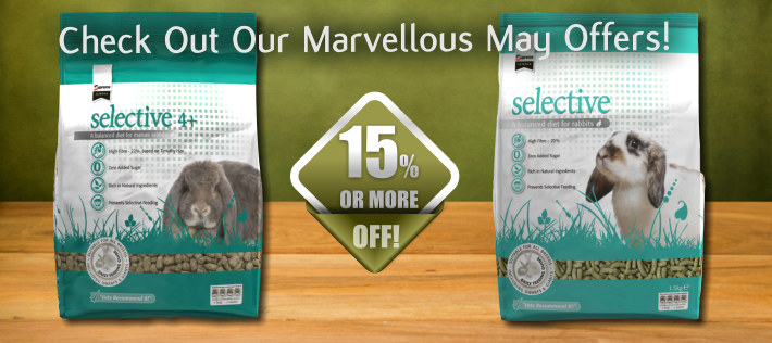 Marvellous May - Selected Selective - now 15% off!