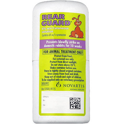 Rearguard - a life saver, for the prevention of flystrike